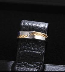 Novi prsten od nehrđ.čelika vel 7