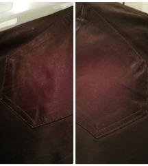 Zara svečane tamnosmeđe hlače