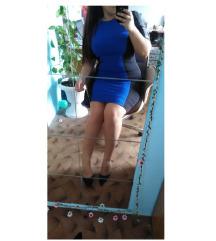 Crno-plava haljina