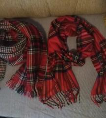 Karirani blanket šal sa dva lica😉 drugi poklon