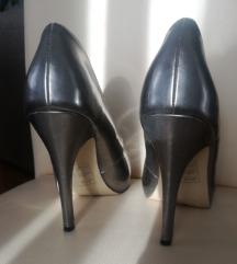 Asos metalik srebrne visoke cipele