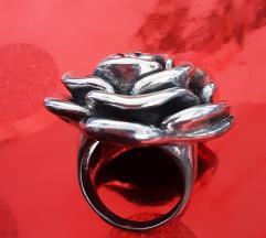 Srebrni prsten ruza, 925