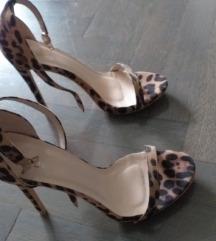 Leopard sandale 39