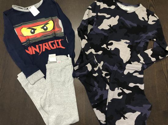 Lot pidžama za djecake, 122-128 i  134