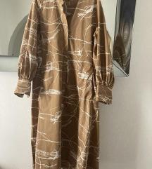 COS organic cotton midi haljina