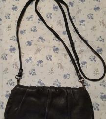 Topshop crna kozna torba