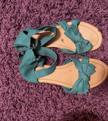 Zelene sandalice vrlo udobne