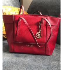 Guess original crvena torba