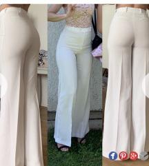 Zara bijele hlače %%% 60 kn