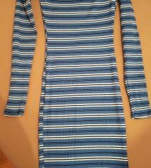 Pencil jesenska haljina na pruge