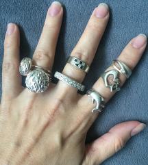 Srebrno prstenje 50-150 kn