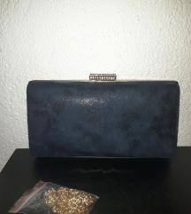 Modra elegantna pismo torbica / La luce