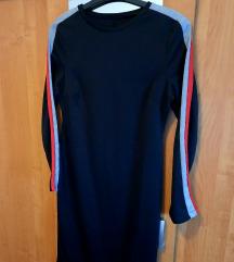 Sinsay haljina M crna
