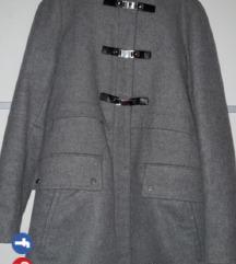 Zara kaput s kapuljacom 36