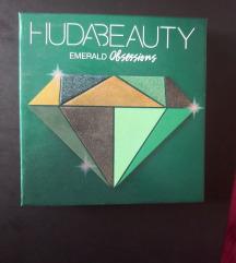 Huda Beauty Emerald obsessions paleta