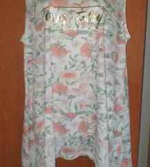Nova majica/tunika sa etiketom cvijetna