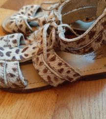 Zara sandale br. 26 (15 cm) tigraste