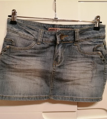 Broadway jeans suknja/ M-SNIŽENO