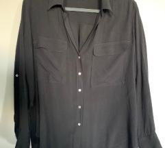 Zara crna kosulja L