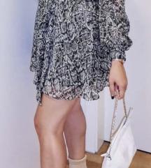 Zara haljina s uzorkom novo