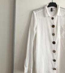 Bijela košulja H&M; DIY