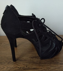 SNIŽENO! Crne sandale