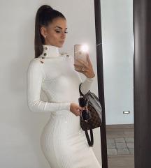 Zara bijela duga haljina rezz