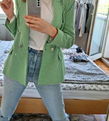Zara zeleni sako (L)