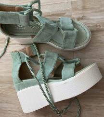 Sandale puna peta mint novo