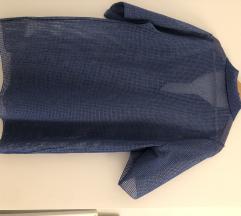 Plava rupičasta majica