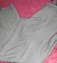 Sive hlače na crtu xl
