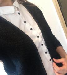 Crni blazer vesta