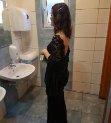 Svečana crna haljina