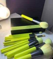 Docolor set kistova - 15pcs Neon Makeup Brush Set