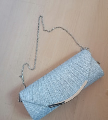 Svecana srebrna torbica