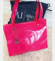 Armani Jeans original roza torba