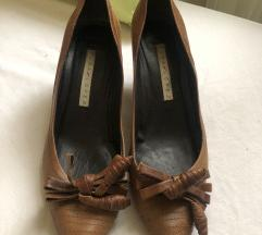 Pura Lopez Cipele na petu smedje
