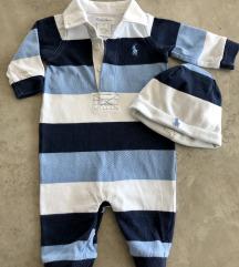 Ralph Lauren Set bebe dečki 3 mj