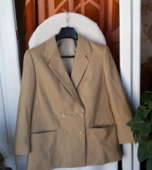 Krem-bež zimski sako-jakna L