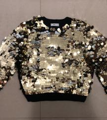 Zara svjetlucavi pulover