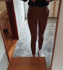 Nove kožne hlače Zara uklj.slanje tiskom