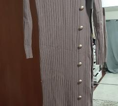 Midi haljina ribbed%%