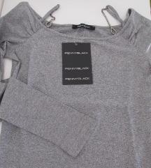 Pennyblack srebrna majica M