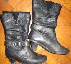 Skerchers crne čizme - PRAVA KOŽA!