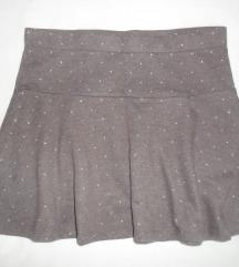 mini suknja s točkicama H&M vel. 158-164