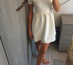 Bershka bijela haljina