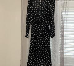 Zara midi haljina na tockice