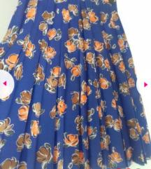 Plisirana suknja M