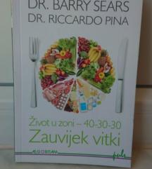 Knjiga Život u zoni 40-30-30 Zauvijek vitki, NOVO