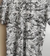 Majica Bershka morska